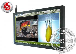 China 16.7M Color 42 inch wifi digital Signage with DMB Software System Wall Mount LCD Display on sale