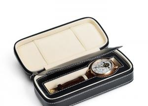 China TW-033 Pu Mens Leather Watch Box  For Wristwatch , Leather Watch Case on sale