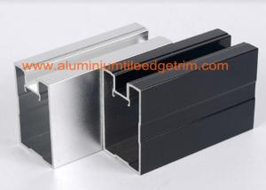 China Extruded Aluminum Extrusion Profiles Channel , Aluminum Profile Extrusions Thermal Break on sale