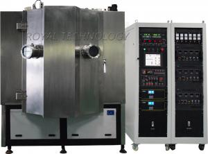 China Black Color PVD Metalization Machine , Golf Irons Parts High Vacuum Coating Machine on sale