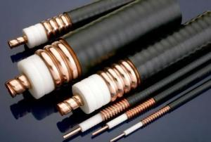 China RF cable jumper, 1/2superflex cable with 7/16 DIN male to 7/16 DIN male on sale