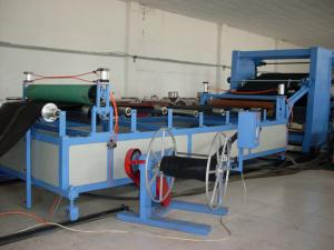China PP / PE Plastic Sheet Extrusion Line For Geocell , Output 250kg/h on sale