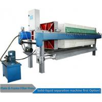 Automatic Program controlled  Hydraulic PP Filter Press Machine Price