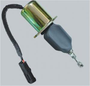 China 5.9L Diesel Engine Fuel Shut Off Solenoid , Universal Fuel Shut Off Solenoid on sale