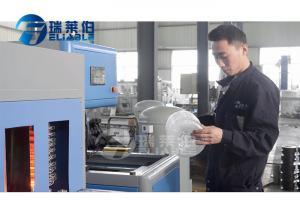 China 1 Cavity 5L Pet Bottle Making Machine For Manual Type , Pet Bottle Manufacturing Machine on sale