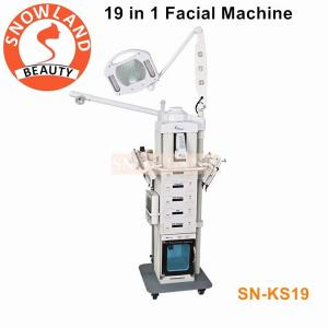 China Multifunction 19 in 1 face beauty machine water dermabrasion / diamond microdermabrasion machine face cleaning machine on sale