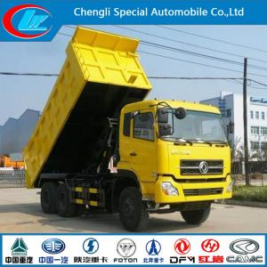 China Dongfeng Dalishen 6*4 290HP Electric Dump Truck (CLW3904) on sale