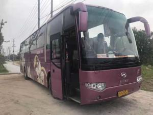 China used low price 55 seats higer used cars used bus large size ,diesel engine and manual transmission for sale in china on sale