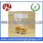 Le pain en plastique transparent imprimé met en sac le gousset inférieur pour le stockage