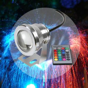 China 16 Colors 10W 12V RGB LED Underwater Fountain Light on sale