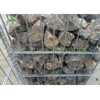 China High Security Welded Gabion Box / Gabion Mesh CagesFor Garden Fence Decorative on sale