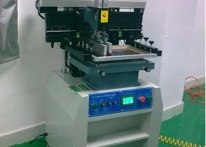 China 220V solder paste printer with 15L/min Air Consumption , solder printer machine on sale