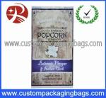 Creative Popcorn Plastic Food Packaging Bags With Different Size / Printing