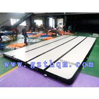 Gymnastics tumble trak for sale inflatable air mats for tumbling sports tumbling gym track