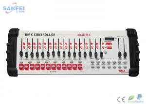 China 384 Chnnels DMX Lighting Controller LED Function And Program Display on sale