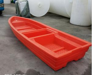 China New boat products Rotational Molded 3M length palstic fish boat for fishing farm and entertainment fishing rowing boats on sale