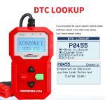 KW590 KONWEI OBD2 And Can Scanner Est All 12V Gasoline And 12v Diesel Vehicle