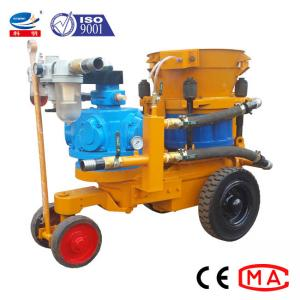 China Air Driven Dry Or Damp Mix Concrete Spray Machine In Variable Output 6~7m3/Hour on sale
