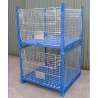 collapsible basket wire mesh container pallet steel wire metal mesh metal mesh storage bins