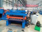 Color Steel Double deck Roofing Sheet Roll Forming Machine For 0.3-0.8 mm thickness