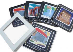 China Wearproof MDF Coaster Blanks Mdf Sublimation Board Easy To Clean Surface on sale