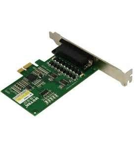 China Low profile 8 Serial Ports pci express serial card / pci serial cards / pci express card on sale
