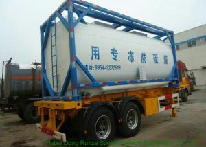 China High Strength ISO Tank Container For Ethylene Glycol , ISO Bulk Liquid Container on sale