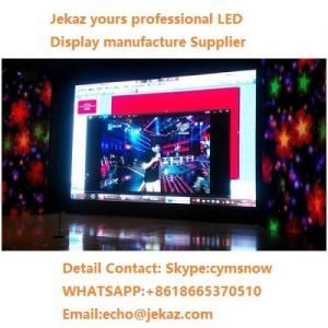 China Alibaba/aliexpress factory price P6 SMD Indoor LED Video Wall Screen with Front Maintenance and WIFI Remote Control on sale