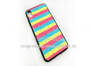 China Bling Sparkle Plastic Phone Cases Diamond Rhinestone Pretty Glitter For Girls on sale