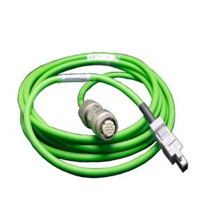 China Green Servo Motor Power Cable Fast Processing Efficiency With Brake / Driver on sale