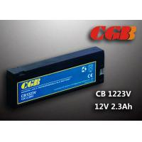 Medical Equipment 12V 2.3AH CB1223V VRLA Rechargeable Battery 182 * 24 * 61mm