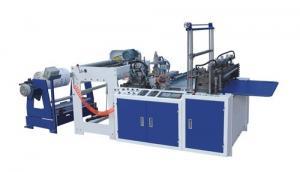 China High Speed Plastic Bag Making Machine Bottom Sealing Bag Making Machines on sale