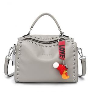 2a22330f551 ... Quality PU Pandora Bag Faux Leather Handbags with Rivets Fashion  Wholesale Shoulder Bags for sale ...