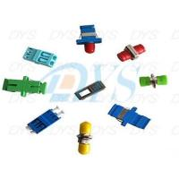 China 1 / 2 Core Plastic Metal Optical Fiber Patch Cord , Green Optical Fiber Cable Adapter on sale