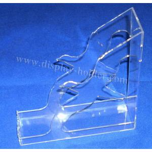 China Book Stand Clear Acrylic Brochure Holder on sale