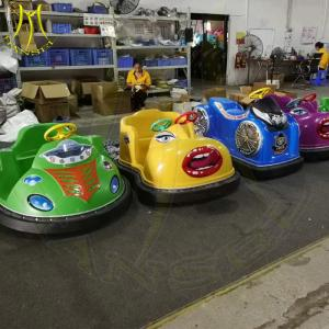 China Hansel amusement battery operated plastic battery bumper car for sale on sale