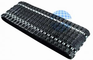 China Snowmobile rubber track/ snow blower for mini excavator accept customized all model and sizes on sale