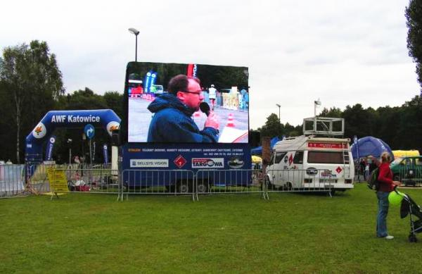 Anti - Static Outdoor Led Screen Hire , IP65 Stage Wedding