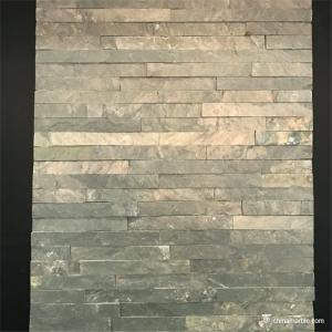 China Slate Culture Stone High Strength Slate Culture Stone Wall Natural stone Green Slate Stone Wall Rockface Cladding on sale