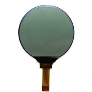 China Professional Round Lcd Display Screen / Monochrome Lcd Screen 128x128 Dots on sale