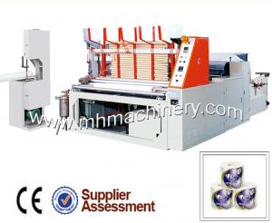 China Automatic Toilet Paper Roll Making Machine on sale