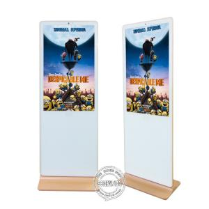 China Android Digital Signage LCD Advertising Media Player White Color Iphone Shape on sale