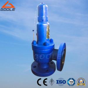 China A41 Type Steel/Stainless  Steel Flanged  Type Closed spring loaded low lift high safety relief valve on sale