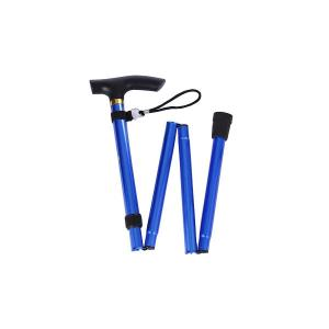 China Medical black aluminum cane/walking sticks/ crutche for old people on sale