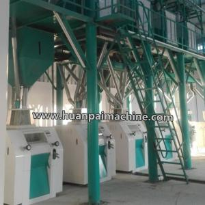China 45-80TPD grain processing machine, wheat flour making machine, milling wheat on sale