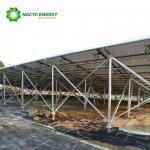 Anodized Aluminum Solar Ground Mount Solar Racking Systems Solar Panel Mounting System