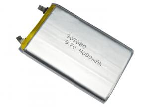 China 3.7V Lithium Polymer Battery 4000mah 805080 3.7V Lithium Rechargeable Battery Cell on sale