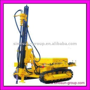 China Hydraulic Crawler Drill Rig KY100 on sale