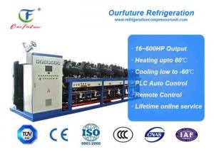 China Cool Room Refrigeration Unit Anbell Carrot Precooling Cold Storage 400hp on sale