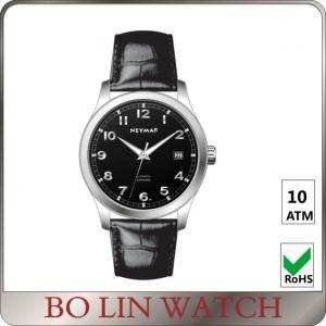China Custom Logo Mens Bracelet Watches , High Range 5 Atm Water Resistant Watch on sale